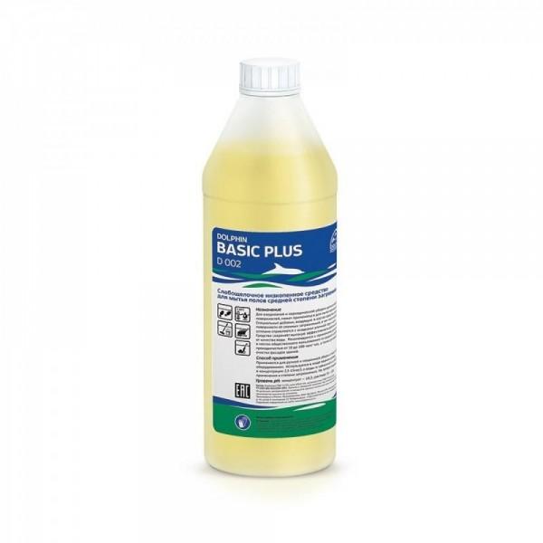 Щелочное средство для ежедневной уборки Dolphin: Бейсик 1л