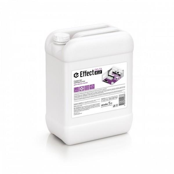 Моющее средство для мятья полов нейтральное Effect: ДЕЛЬТА-412 5л