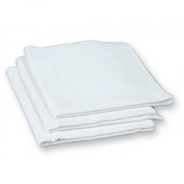 Текстильные изделия: Полотенце вафельное 40х80см отбеленное